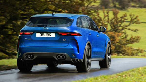 Jaguar F-Pace SVR (2021) Receive Cosmetic & Mechanical Upgrades: Performance, Design & Other Details