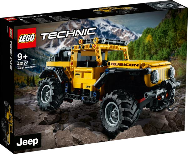 Jeep Wrangler Rubicon Lego Technic Set Revealed: First-Ever Jeep Model From Lego To Be Available From 1st January 2021