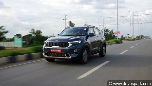 Kia Sonet Becomes Best-Selling Compact-SUV In India: Company Registers 50% Monthly Growth