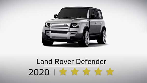 2020 Land Rover Defender Safety Ratings: Secures Five-Stars At Euro NCAP Crash Tests For Adult & Child Occupant Protection