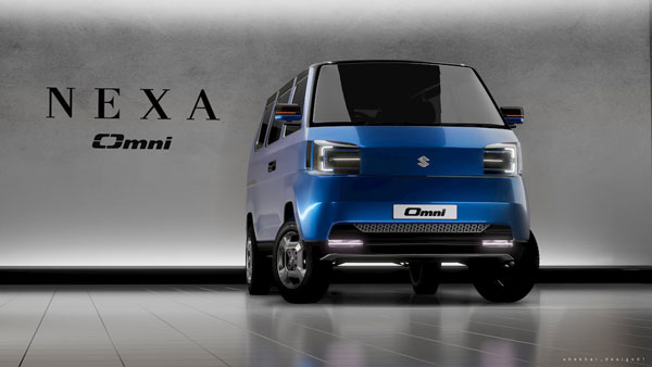Maruti Suzuki Omni Electric Concept Rendered By Design Student: A Modern Take On An Iconic MPV In India