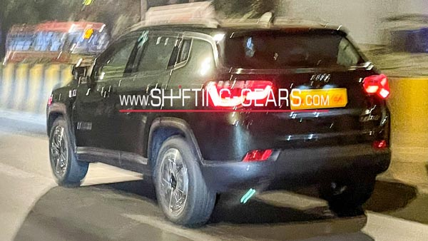 Spy Pics: 2021 Jeep Compass Facelift Spied In New Green Paint Scheme: India Launch Expected Soon
