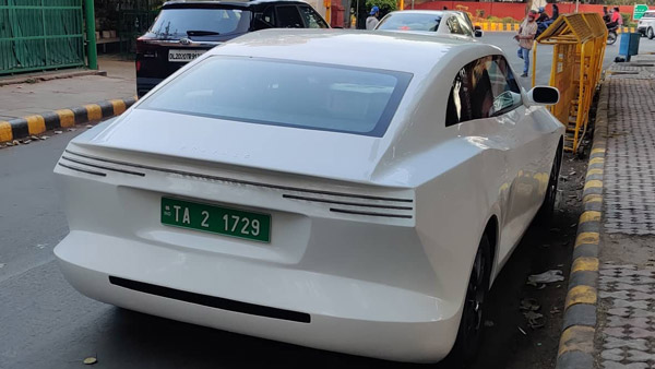 Spy Pics: Pravaig Extinction Electric Car Spied Testing In Delhi For The First Time Post Its Prototype Unveil Earlier This Month