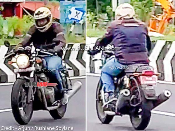 2021 Royal Enfield Continental GT650 Spied