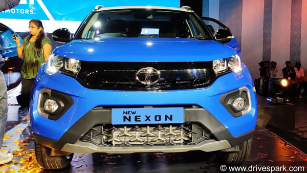 Spy Pics: New Tata Nexon (2021) Spotted Testing Likely With DCT Transmission Ahead Of Launch