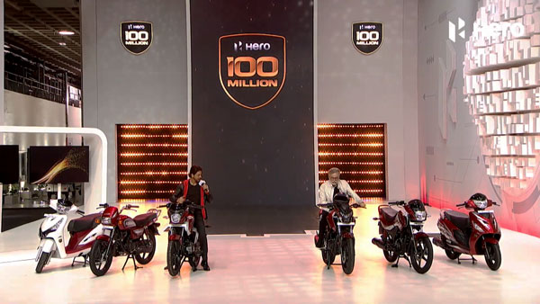 Hero MotoCorp 100 Millionth Production Unit Rolls-Out: Company Unveils Six New Celebration Edition Models In The Indian Market.