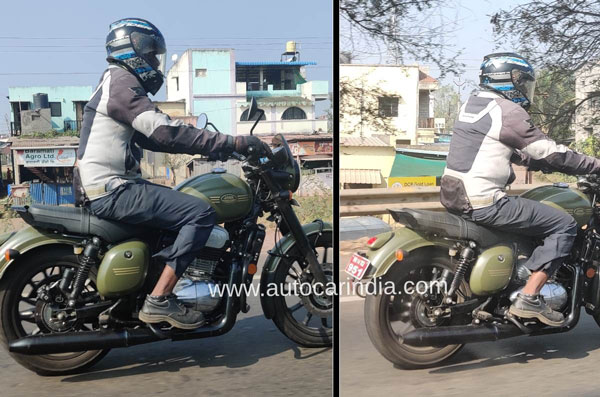 Spy Pics: New Jawa Forty-Two Spotted Testing With New Features Ahead Of Launch