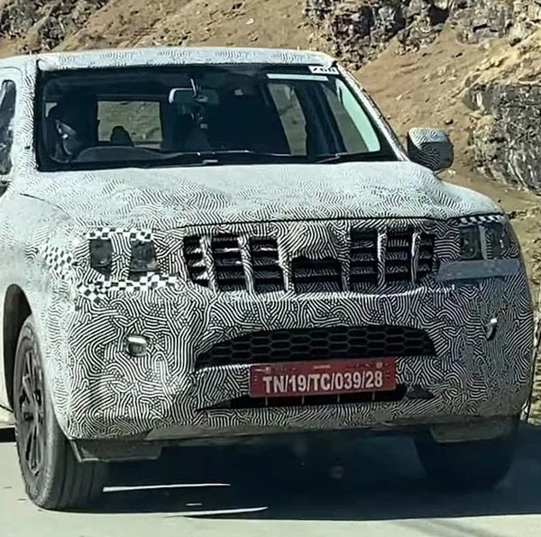 Spy Pics: New Mahindra Scorpio Spotted Testing Again Ahead Of its Launch