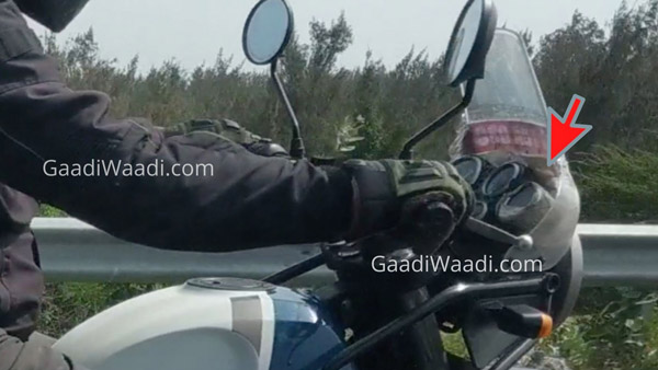 Spy Pics: New Royal Enfield Himalayan (2021) Spied Testing With Tripper Navigation System