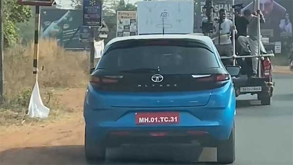 Spy Pics: Tata Altroz Turbo Spied During A TVC Shoot Ahead Of Its Launch On 13th January