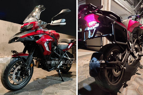 New Benelli TRK 502 (2021) Spotted Arriving At Dealerships In India Ahead Of Launch: Specs, Features Changes & Other Details