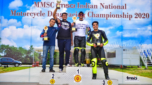 Indian National Drag Racing Championship (2020) Results: Hemanth Muddappa Wins For The Fourth Time