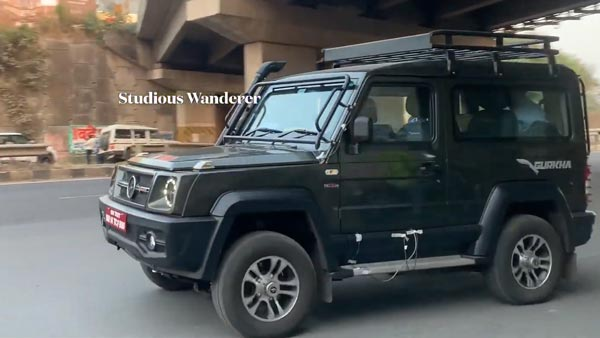 Spy Pics: New Force Gurkha Near Production SUV Spotted Testing With Accessories Ahead Of India Launch