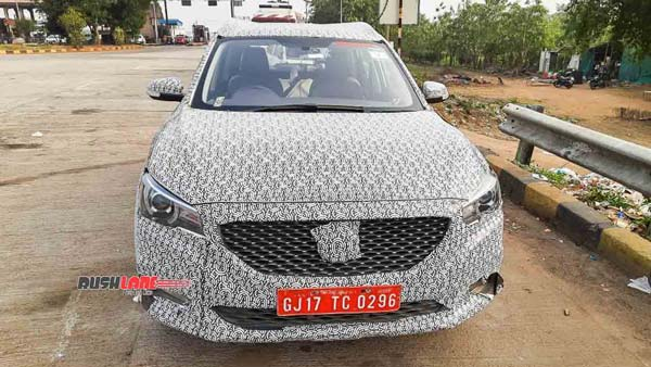 Spy Pics: MG ZS Petrol Interiors Spied Ahead Of Launch: Expected Price, Specs, Features, Rivals & Other Details