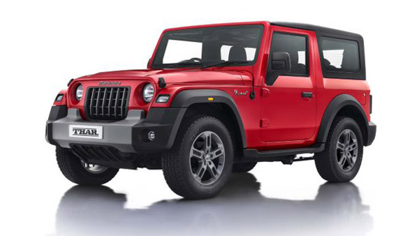 Mahindra Thar SUVs Spotted At Dealerships Without Infotainment System: Here Are The Details