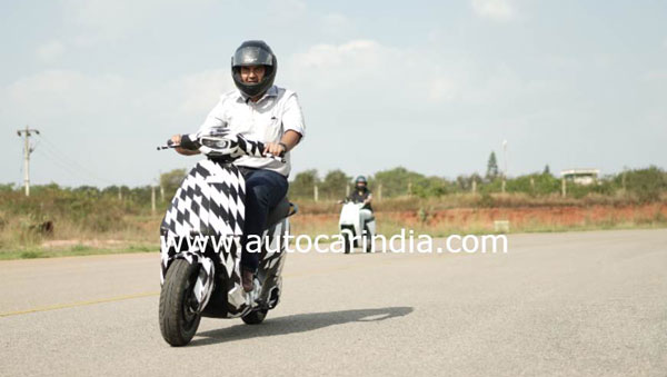 Spy Pics: Ola Electric Scooter Spied Testing For The First Time Ahead Of Its Launch In India