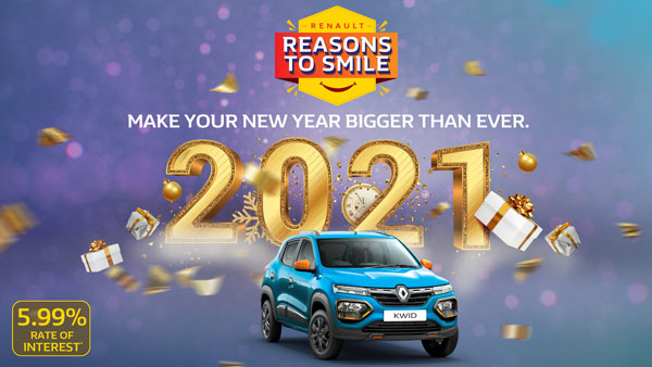 Renault Cars Discounts & New Year Offers Announced In January 2021: Benefits Of Rs 95,000 On Kwid, Triber & Duster