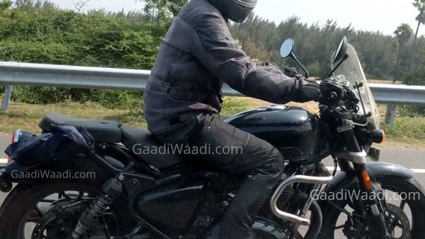 Spy Pics: Royal Enfield 650cc Cruiser Spotted Testing Again Revealing New Features