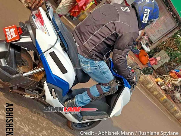 Spy Pics: Suzuki Burgman Electric Scooter Spied Testing Yet Again Ahead Of India Launch