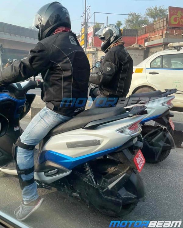 Suzuki Burgman Electric Scooter Spotted Testing Once Again: Here Are All the Details!