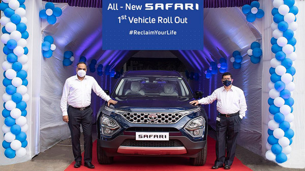 Tata Safari Production Begins: Company Officially Reveals Final Production-Spec Version Ahead Of Launch On Republic Day