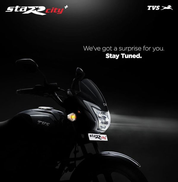 2021 TVS Star City Plus Teased Ahead Of Launch: Expected Changes In Design, Specs, Features, Pricing & Other Details