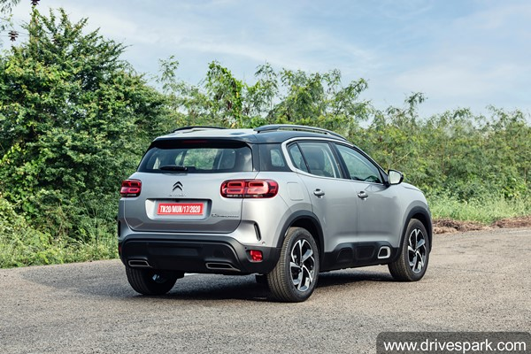 Citroen C5 Aircross Arrives At Dealerships In India Ahead Of Launch Next Month: Specs, Features, Variants & Other Details
