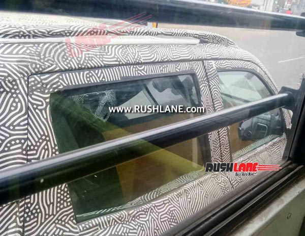 Next-Generation Mahindra Scorpio Spotted Testing Once Again: Here Are All The Details