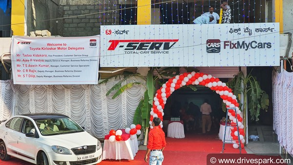 Toyota T-Serv & Fix My Cars Inaugurates Multi-Brand Car Service Centre In Bangalore