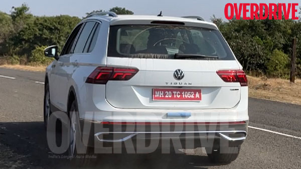 2021 Volkswagen Tiguan 5-Seater Spotted Testing In Indian: Read More To Find Out