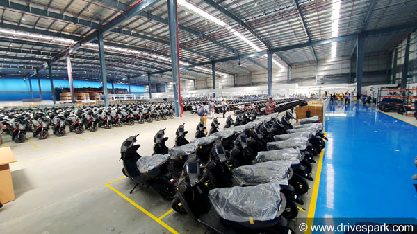 Ather Electric Scooter Manufacturing Plant Hosur: Images, Production Capacity, Manpower, Assembly Line & Other Details