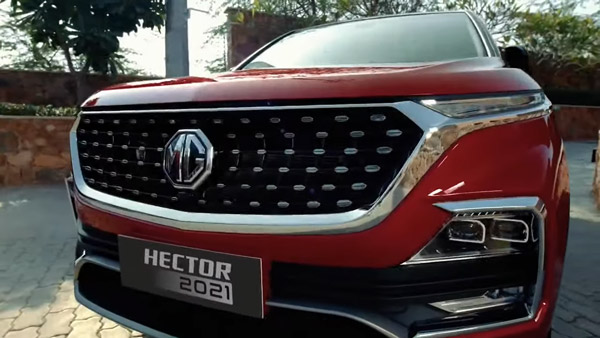 2021 MG Hector Petrol-CVT Trims Launched In India At Rs 16.52 Lakh: Will Be Sold Alongside DCT Transmission Unit