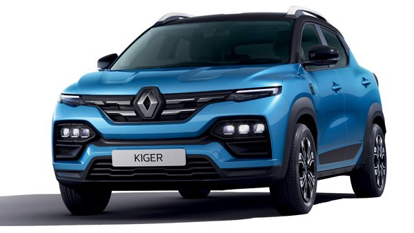 All-New Renault Kiger Spotted At Dealership In Brown Colour: Here Are All The Details