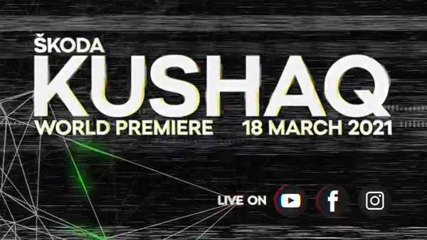 Skoda Kushaq World Premiere Date Announced: Here Are All The Details!