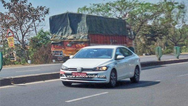 Volkswagen Vitrus Spotted Testing Once Again In India: Here Are All The Details!