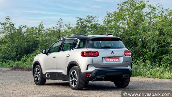 Citroen C5 Aircross Pre-Bookings Begin In India Ahead Of Launch This Month: Booking Amount, Variants & Other Details