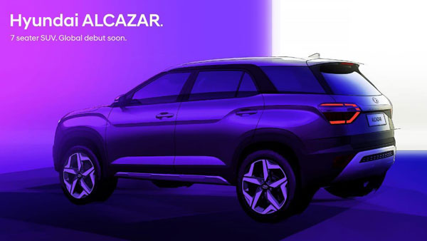 Hyundai Alcazar Design Leaked Ahead Of India Launch: Exterior, Features, Specs, & Other Details