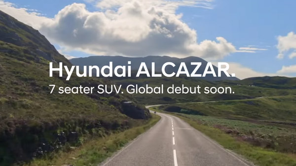 Hyundai Alcazar SUV Spotted Testing Once Again: Here's Everything You Need To Know