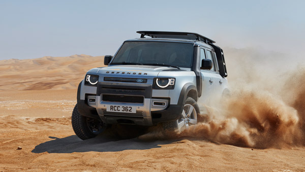Land Rover Defender Diesel Launched In India At Rs 94.36 ...