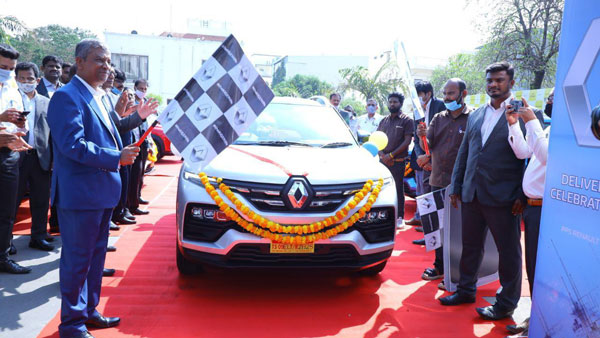 Renault Delivers Over 1100 Units Of the Kiger SUV Across India On The First Day: Here Are The Details