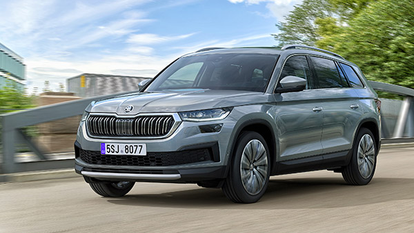 2021 Skoda Kodiaq Facelift Revealed: Gets Subtle Design Changes & More Powerful Engines
