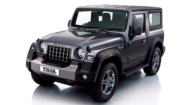 Mahindra Thar Bookings Cross The 50,000 Milestone In Just Six Months