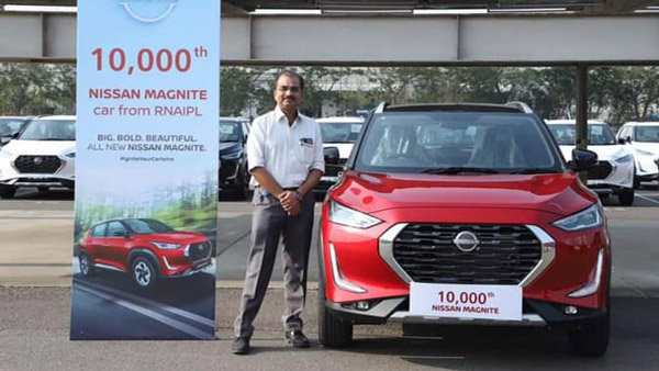 Nissan Magnite Production Crosses 10,000 Units Mark: New Milestone Achieved