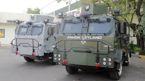 Ashok Leyland Delivers Light Bullet-Proof Vehicles To Indian Air Force: First Batch of LBPV