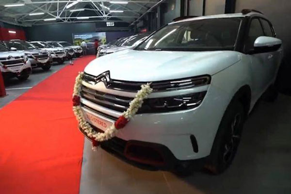 Citroen C5 Aircross Deliveries Begin In India: Dealers Report Positive Market Response For Premium SUV