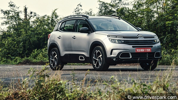 Citroen C5 Aircross Launched In India: Prices Start At Rs 29.90 Lakh