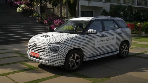 Hyundai Alcazar Unveiled Ahead Of India Launch This Year: Exterior, Features, Engine Specs, & Other Details