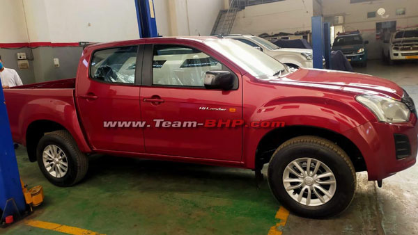 Isuzu D-Max Hi-Lander Spied At The Dealership Ahead Of Its Launch: Details & More!