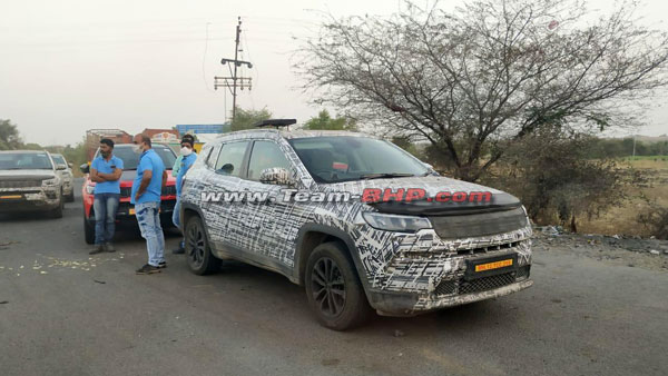 Upcoming Jeep Seven-Seater Spied Testing Once Again Ahead Of Launch: Details & More!