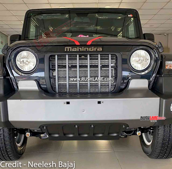 The Mahindra Thar Gets Some New Accessories: Here Are The Details And Prices!